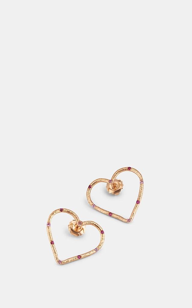 Brent Neale Open Heart Earrings