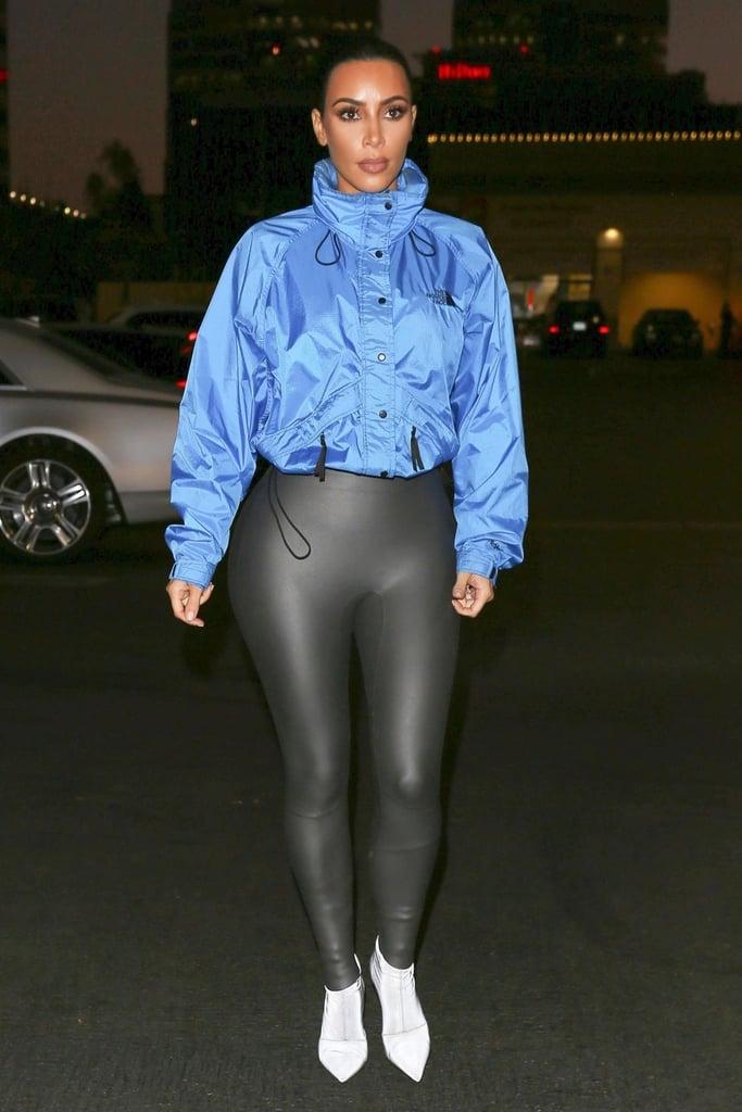Kim Kardashian North Face Jacket