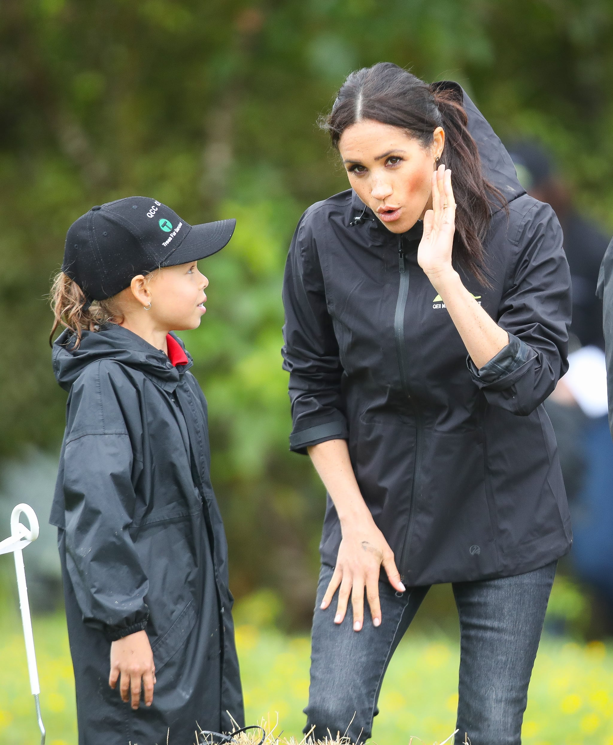 prince harry and meghan markle toss rainboots in new zealand popsugar celebrity prince harry and meghan markle toss