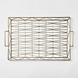 Decorative Geometric Tray Small