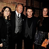 Christopher and Tammy Kane pose with Harold Tilman and Alexandra Shulman.