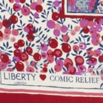 Liberty of London Designs Silk Scarves for Comic Relief