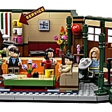 The Full Friends Central Perk Lego Set From the Front
