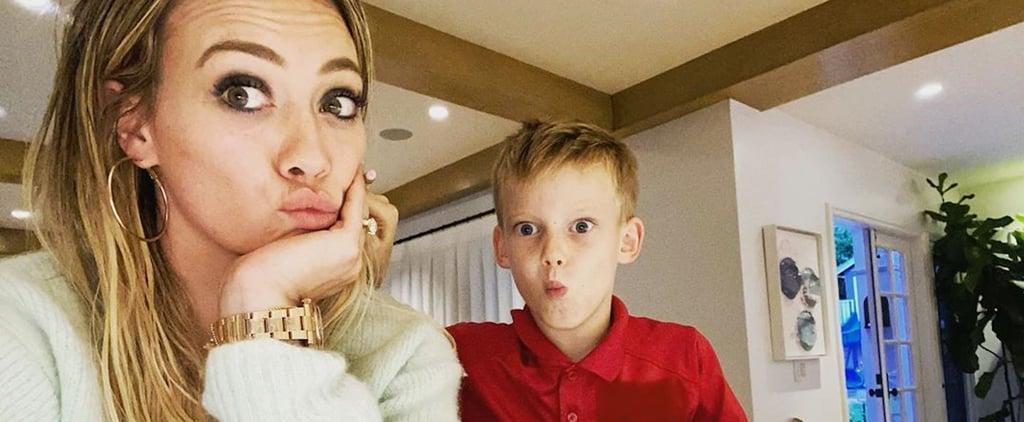 """Hilary Duff Admits Her Son's Homework Is """"No Joke"""""""