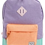 Herschel Kids' Colorblock Canvas Backpack
