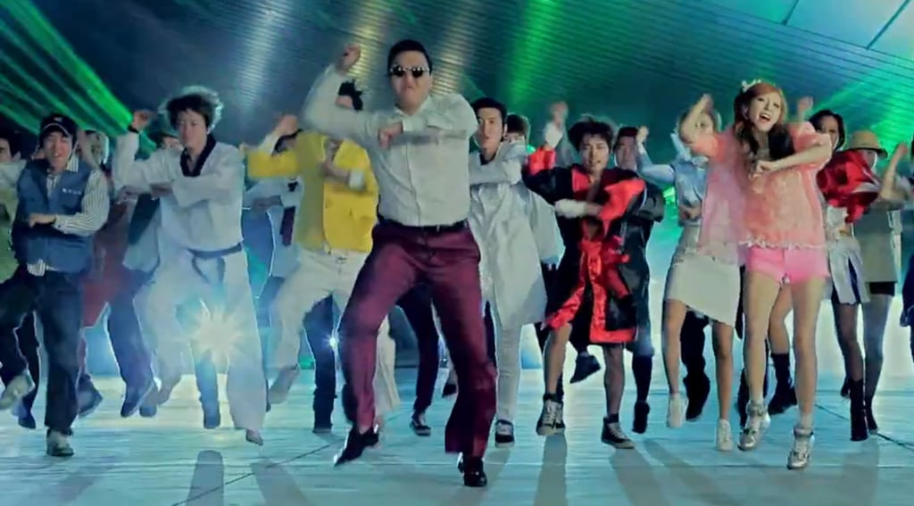 The video garnered so much attention because of its frivolity, humour, colour and catchy beat, but the real attraction is PSY's unique dance move – dubbed 'the horse'  - that has started a worldwide copycat craze.
