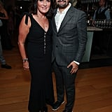 Pictured: Sherry Marsh and Lin-Manuel Miranda