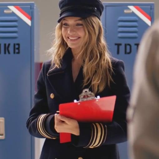 Gigi Hadid in Tommy Girl Fragrance Ad