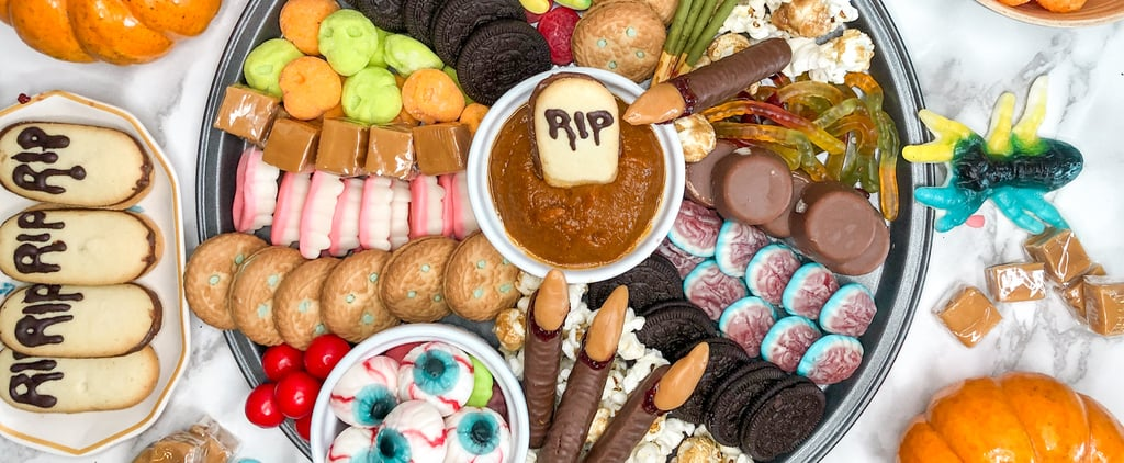 How to Make a Halloween Candy Charcuterie Board