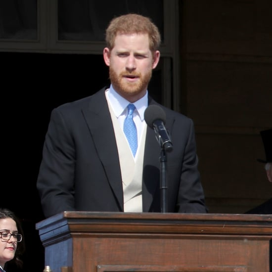 Prince Harry Stung by a Bee at Prince Charles's Birthday