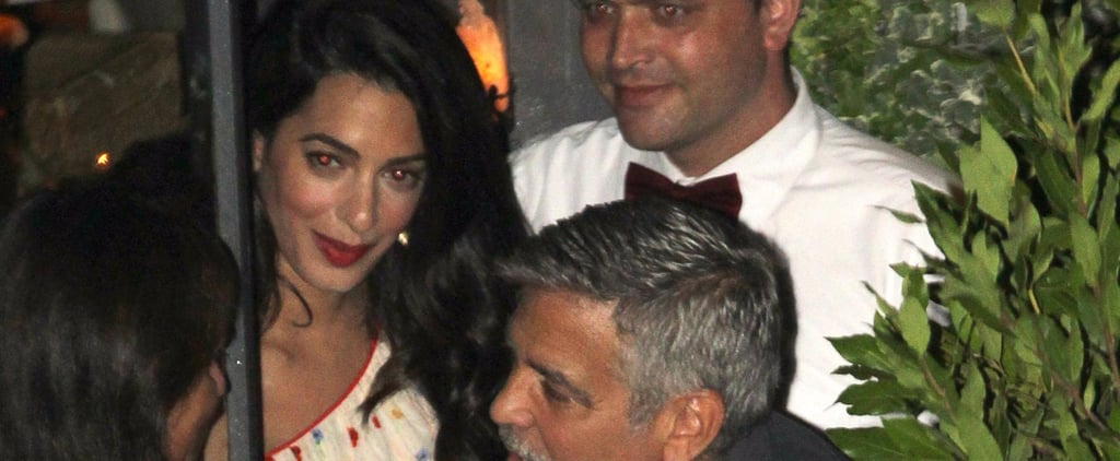 Amal Clooney's Dress Is the Epitome of Summer Style — But Not at All Typical