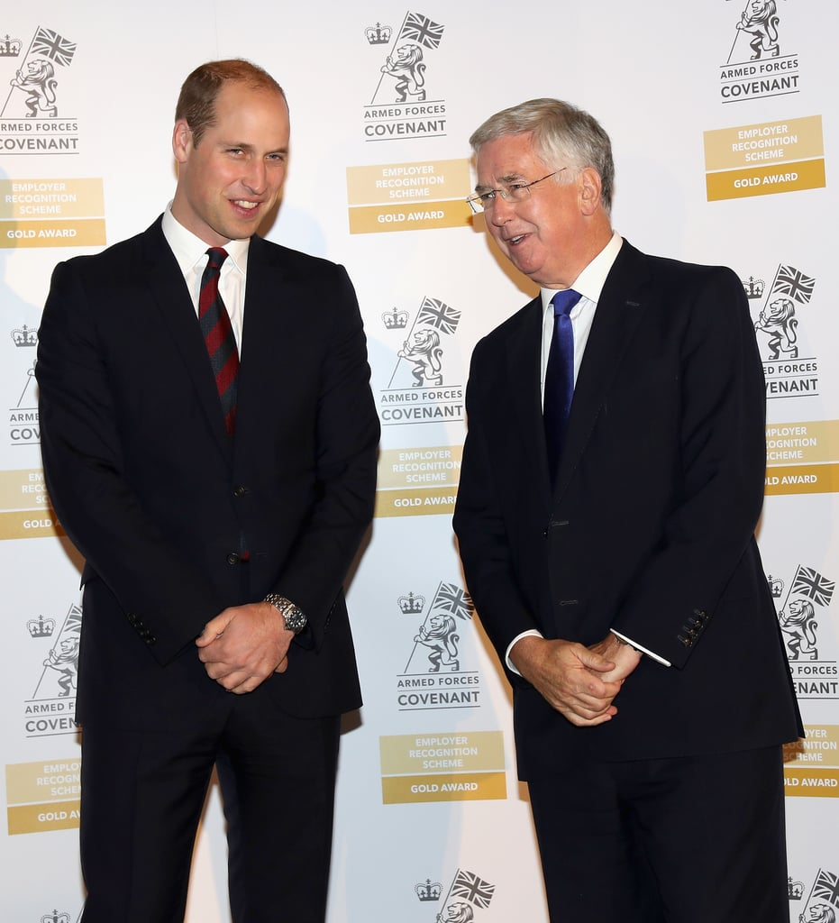 Prince William at Basingstoke and North Hampshire Hospital
