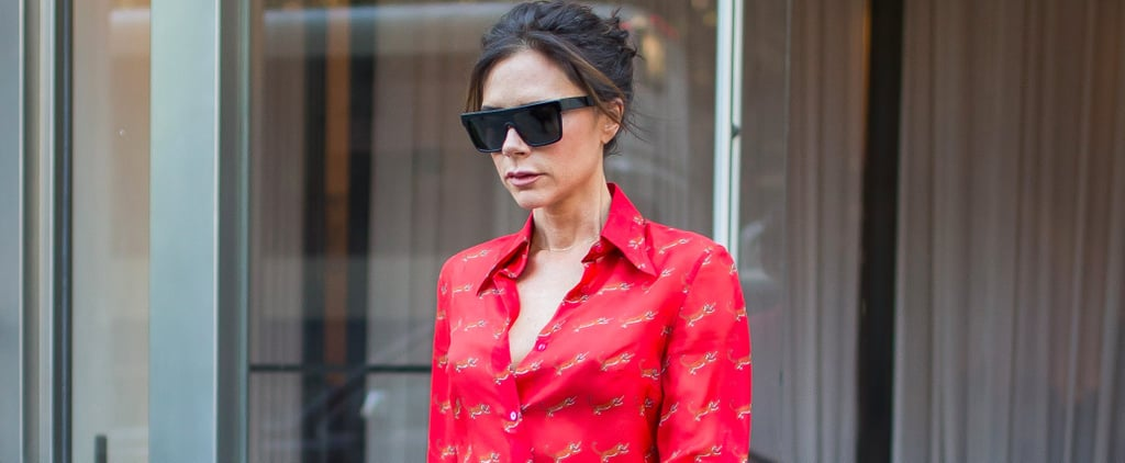 Victoria Beckham Is Wearing the Glitter Shoes of Your Childhood Dreams