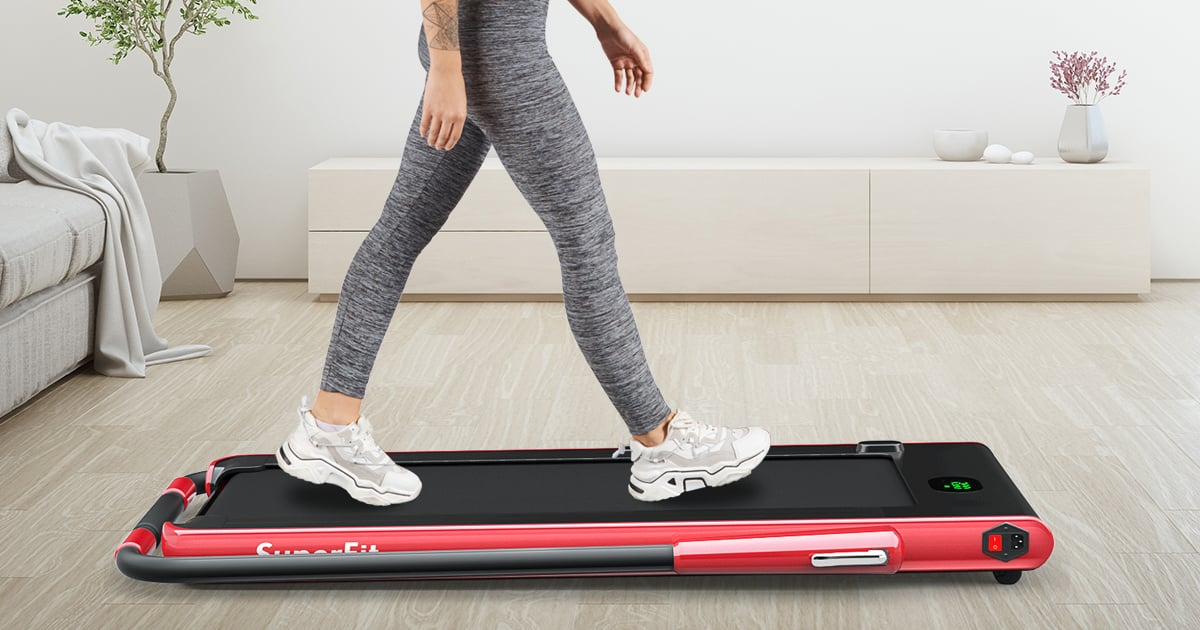 I Love to Walk, and This Space-Saving Treadmill Has Been the Perfect Home-Gym Solution
