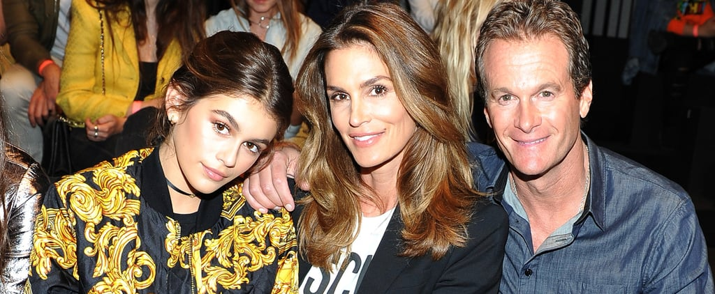 Cindy Crawford's Son Makes His Runway Debut, Has the Support of His Entire Family