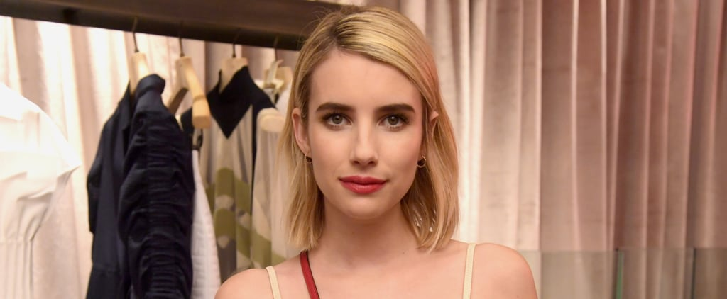 Emma Roberts Brown Hair 2019