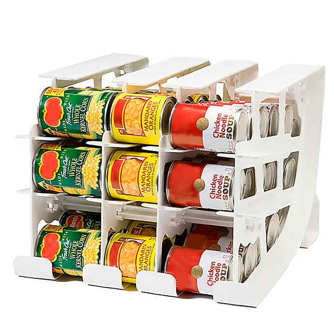 Fifo Can Tracker Food Storage Organizer