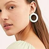 See Ya Side Hoop Earrings