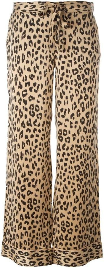 Equipment Kate Moss for leopard print trousers ($409)