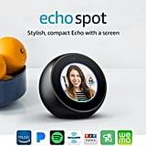 """Echo Spot   Alexa-Enabled Speaker With 2.5"""" Screen"""