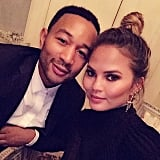 Chrissy Teigen and John Legend Wedding Anniversary 2015