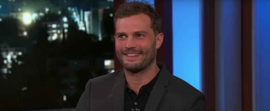 """Jamie Dornan Jokes About the Size of His """"Wee-Bag,"""" and Now We Need to See the Receipts"""