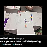 The Superhero Club is a place where young kids read, discuss, and draw comics. Captain Marvel writer Kelly Sue DeConnick tweeted a photo of the drawings done by the club's little lady members. Of the 15 attendees, 10 were girls!