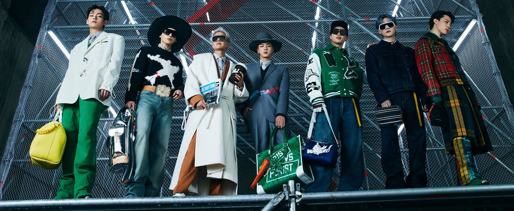 BTS Walked in Louis Vuitton's Fall Men's Collection in Seoul