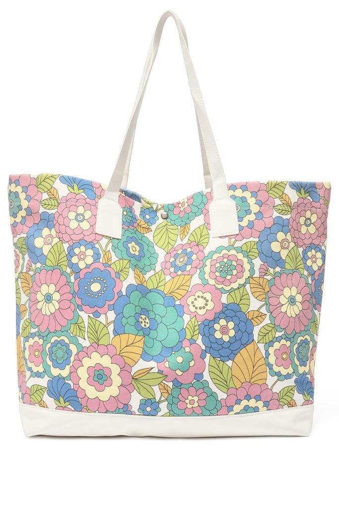 Dodo Bar Or Litta Floral-Print Canvas Tote Bag