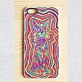 Whoa dude, this psychedelic cat case ($18) is, like, totally groovy.