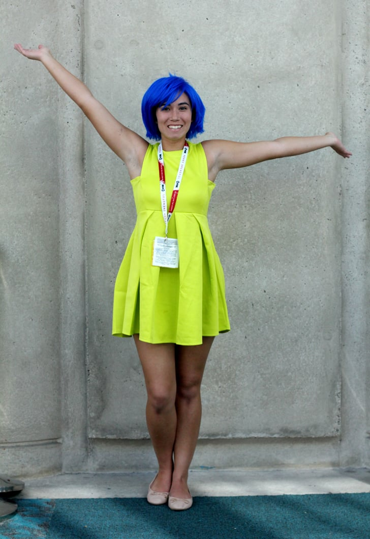 joy from inside out creative halloween costumes for