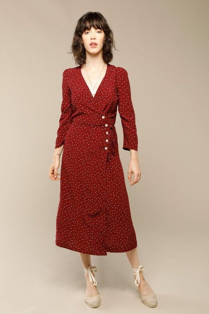 Rouje Paris Gabin Dress With Dot Print