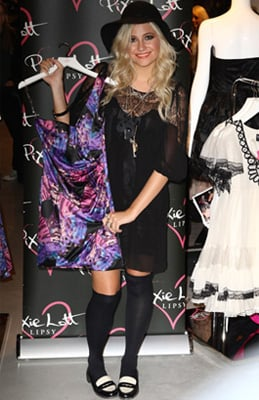 Pixie Lott Launches Autumn Collection  for Lipsy