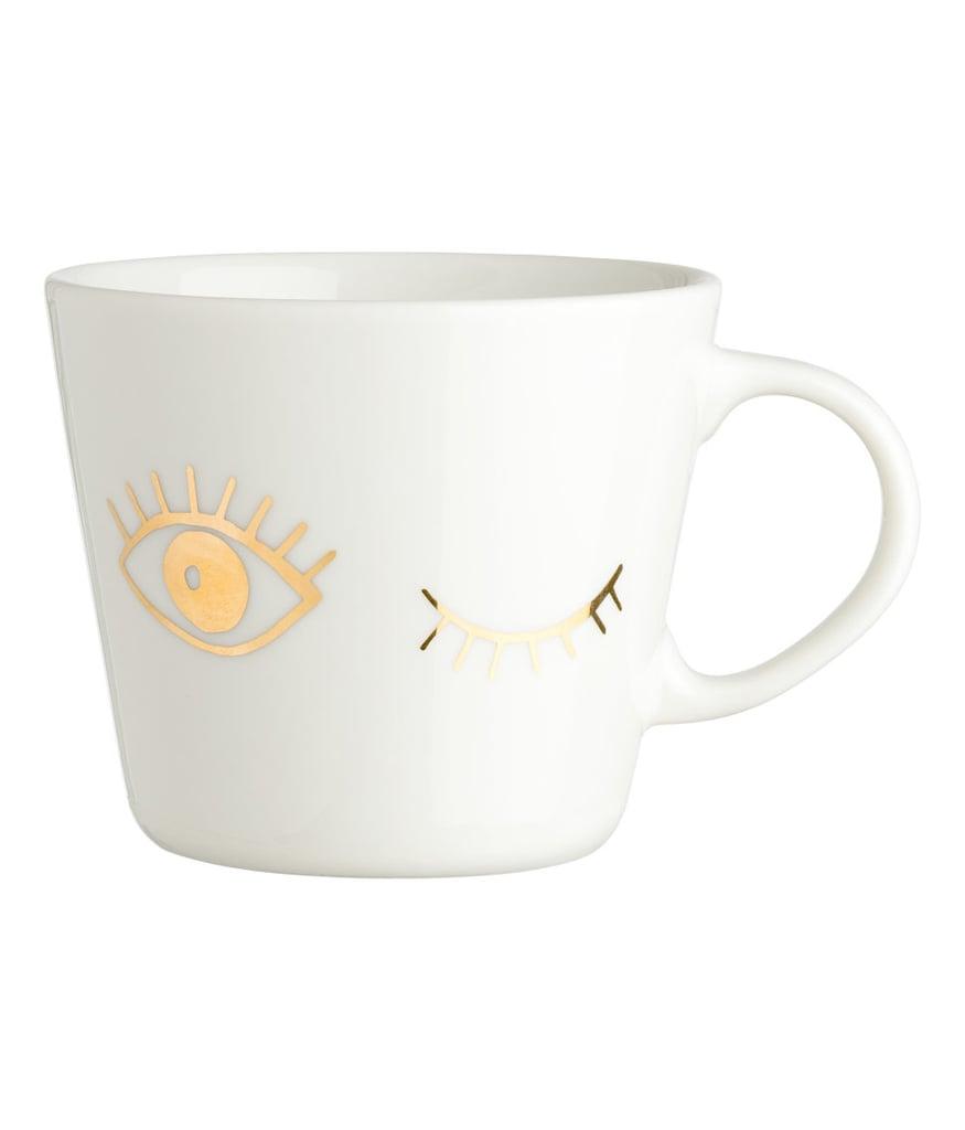 H&M Printed Porcelain Mug