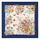 Gucci Eighties Bouquet Silk Scarf