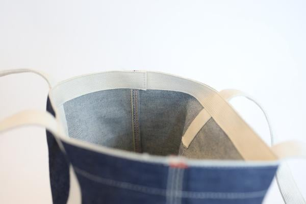 Organic Selvedge Denim Tote Bag