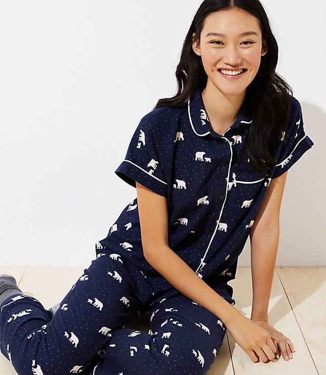 Loft Polar Bear Pajama Set