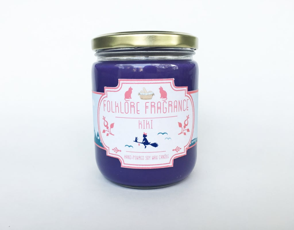 Kiki candle ($15) with chocolate croissant notes