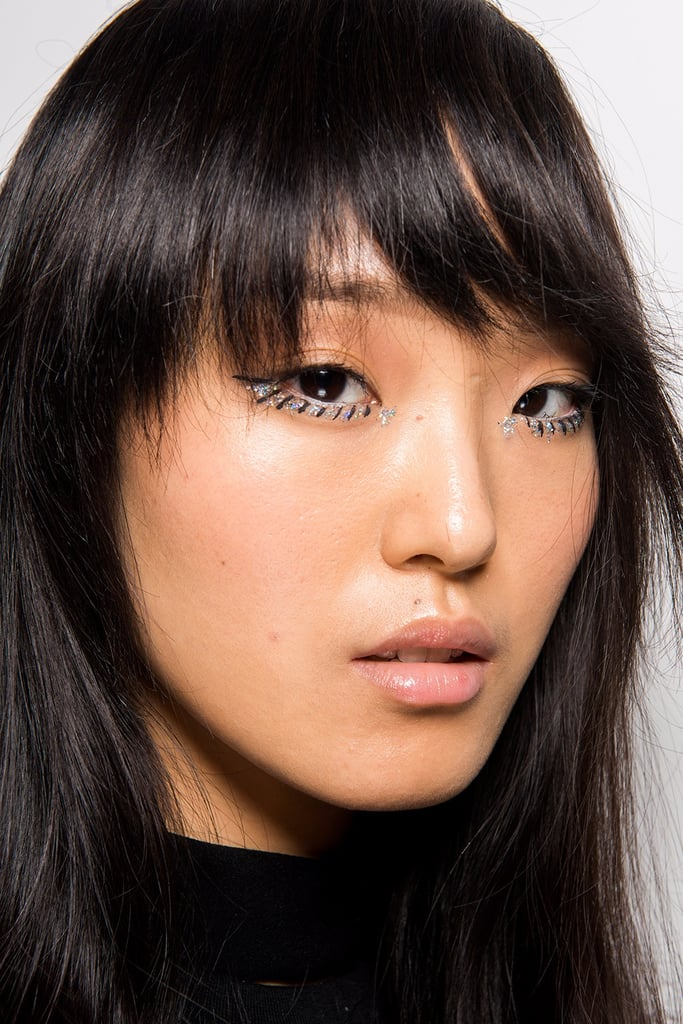 makeup hair fall week york shoji tadashi beauty popsugar strip