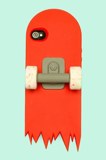 Red Skate Deck iPhone 4 Case