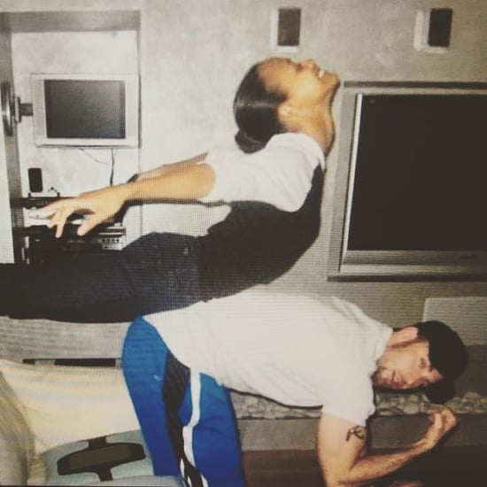Zoe Saldana Chris Evans Throwback Instagram Photo April 2019