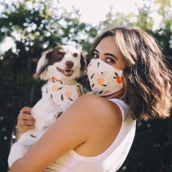 Goodboy x Sock Fancy Matching Face Mask and Dog Bandana Sets
