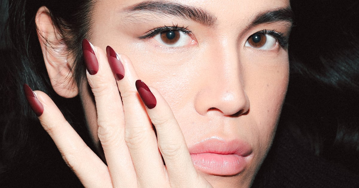 Matte Red, Ombré Gold — You Won't Wanna Miss NYFW's Takes on the Classic French Mani.jpg