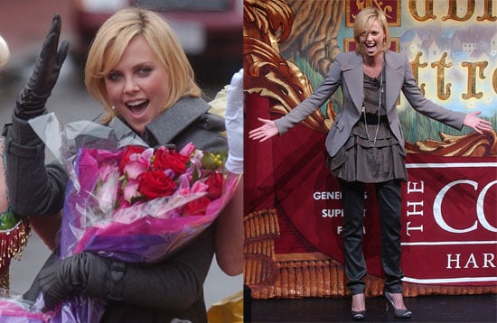 Charlize Theron Wins The Harvard Hasty Pudding Pot