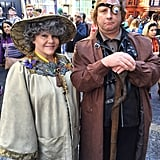 Professor Sprout and Mad-Eye Moody