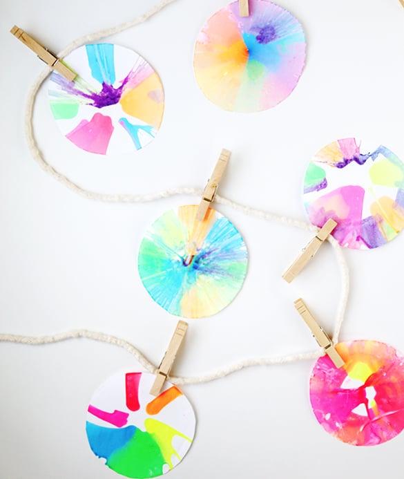 DIY Spin Art