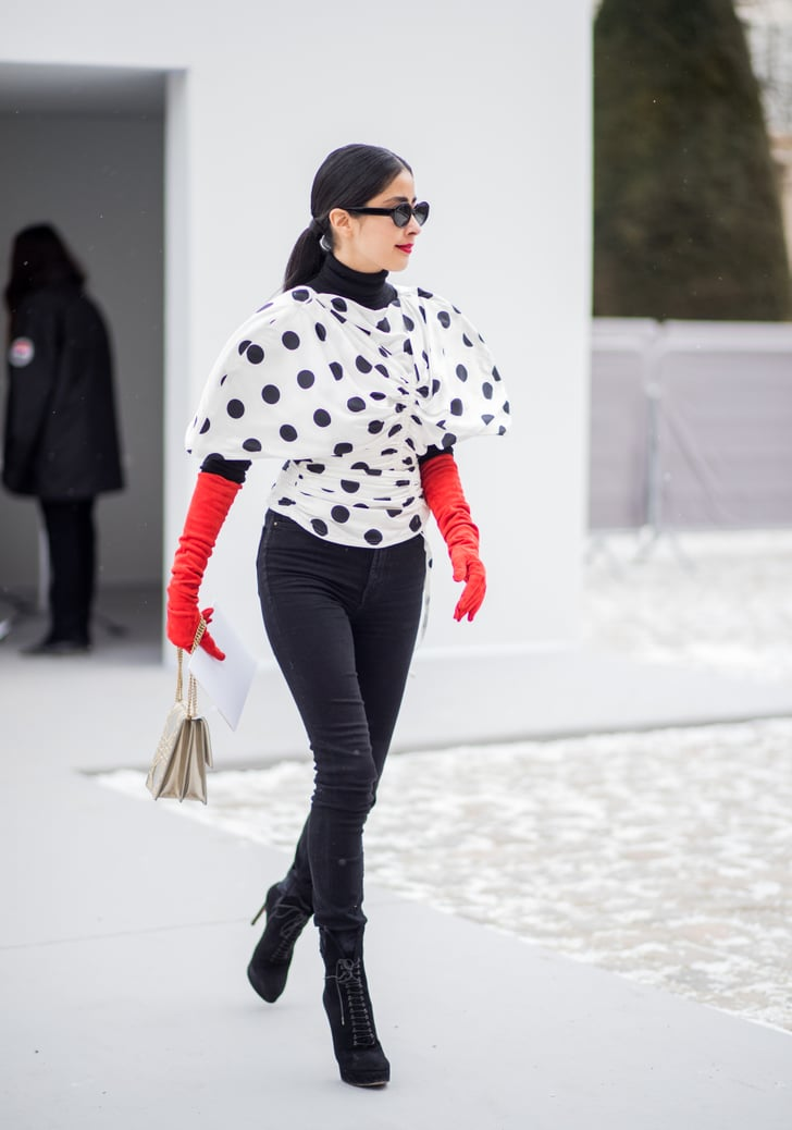Day 2 Street Style At Paris Fashion Week Fall 2018 Popsugar Fashion Middle East Photo 12