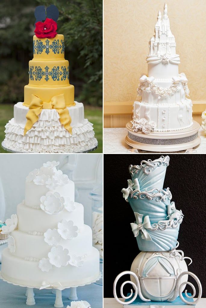 disney princess wedding cakes popsugar food. Black Bedroom Furniture Sets. Home Design Ideas