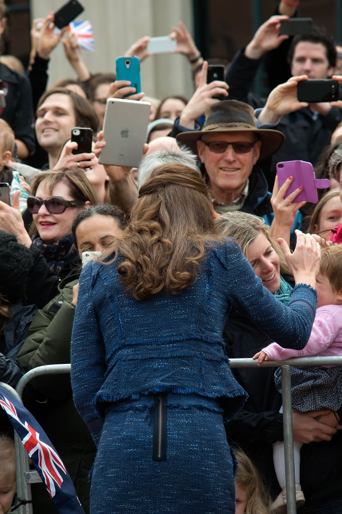 Kate Middleton in New Zealand