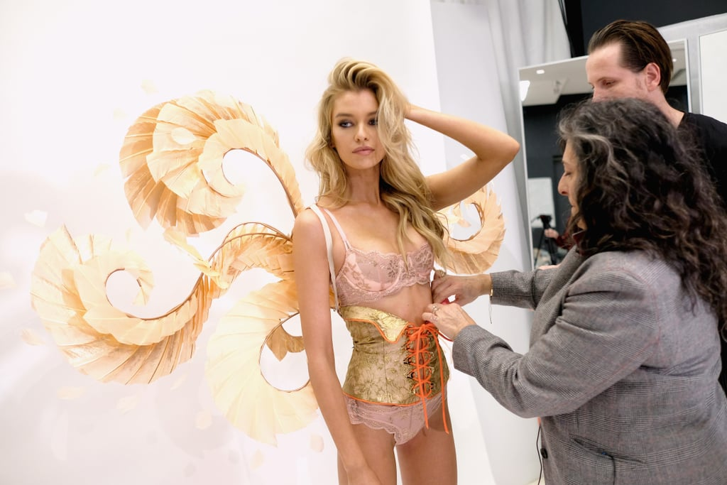 You'll Never Guess What Stella Maxwell Does With Her Runway Lingerie After the Victoria's Secret Show